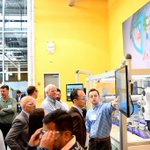 Image for the Tweet beginning: Last week's @DMDII_ #FutureFactory Technology