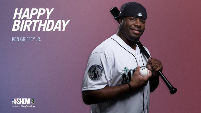 He\ll always be The Kid to us.  Happy birthday, Ken Griffey Jr.!