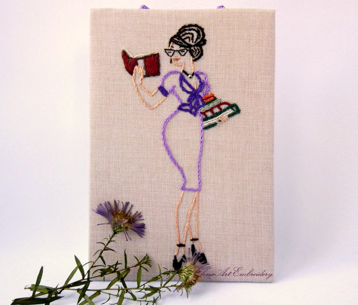 Art Embroidery On Twitter Embroidery Art Modern For Women