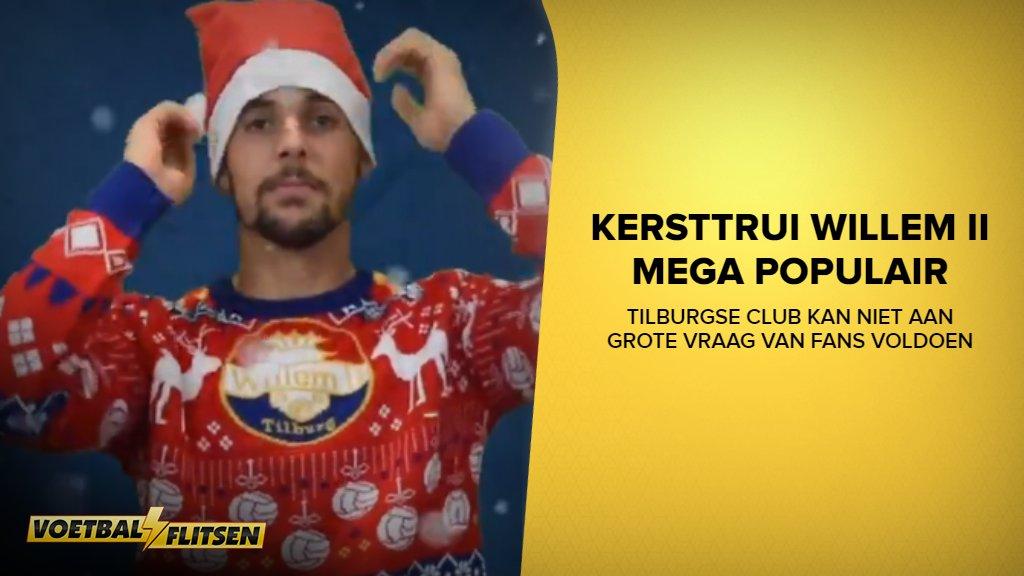 Kersttrui Ajax.Voetbalflitsen On Twitter De Foute Kersttrui Die Willem Ii Op De
