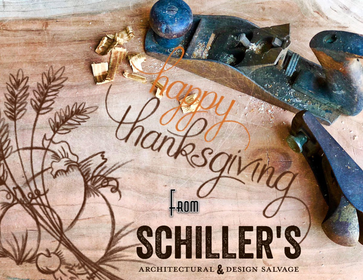 Schillers Salvage On Twitter Happy Thanksgiving From Our