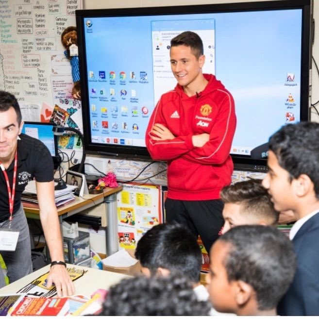 Fantastic experience with @MU_Foundation and all the students of Manchester academy. Really impressed with the level of your Spanish 👍🏼😉