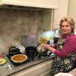 Image for the Tweet beginning: Susan's pumpkin pie made from
