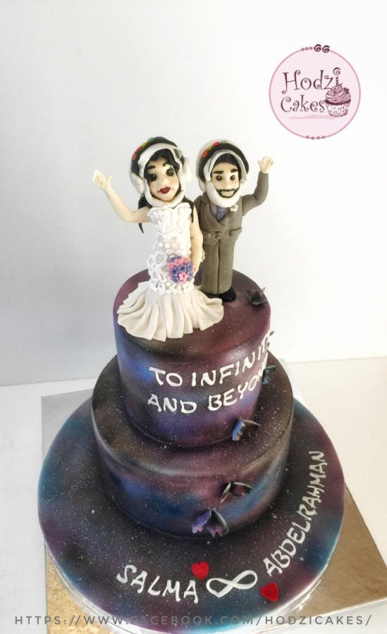 Astronauts & Space themed Engagement Cake👨🏽‍🚀👩🏼‍🚀🦋💜💙💗 ... https://t.co/2IaujZrbxF #cake #cakedecorating https://t.co/aQTWZoko9E