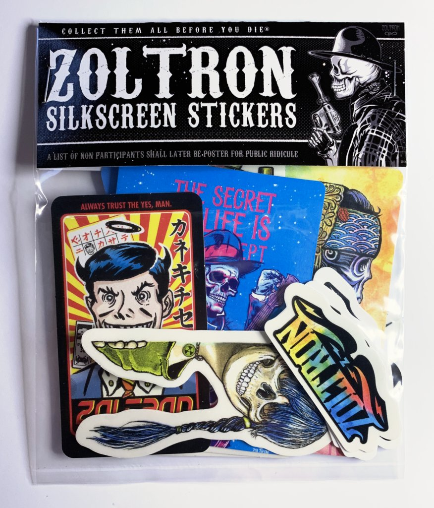 New @Zoltron Sticker Packs. Get some. store.zoltron.com/products/new-z…