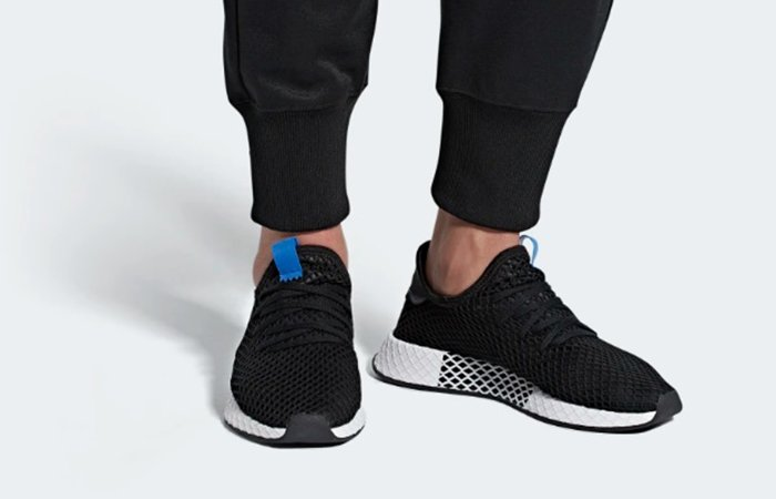 4e3fc31eb adidas Deerupt Black Blue B42063 Going Live Tonight AT 11 PM GMT!!!!  https   fastsole.co.uk sneaker-release-dates adidas adidas-deerupt-black- blue-b42063  …