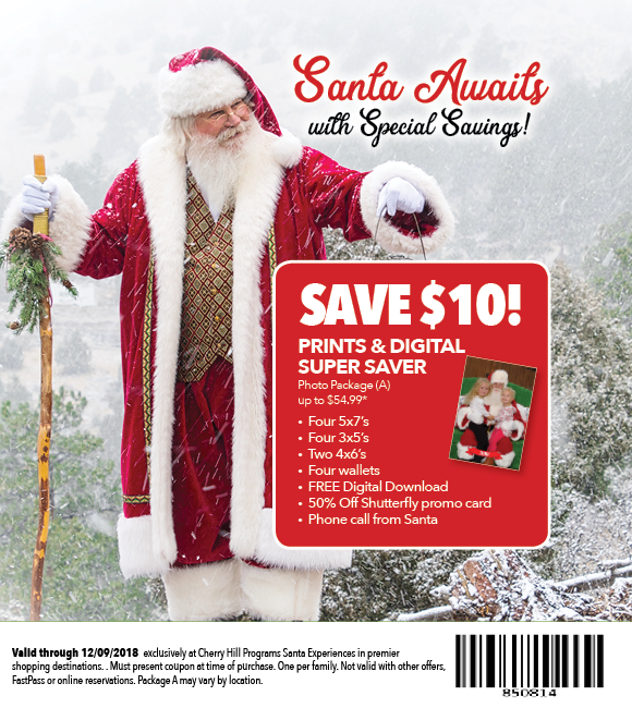Cherryhillprograms On Twitter Santa Has A Super Saver That Makes Great Holiday Gifts Mention Code 850814 To Save 10 On Package A Now Through Dec 9 2018 Find A Magical Santa Experience Near Click here to check amazing app my holiday moments content for united states. holiday gifts mention code 850814