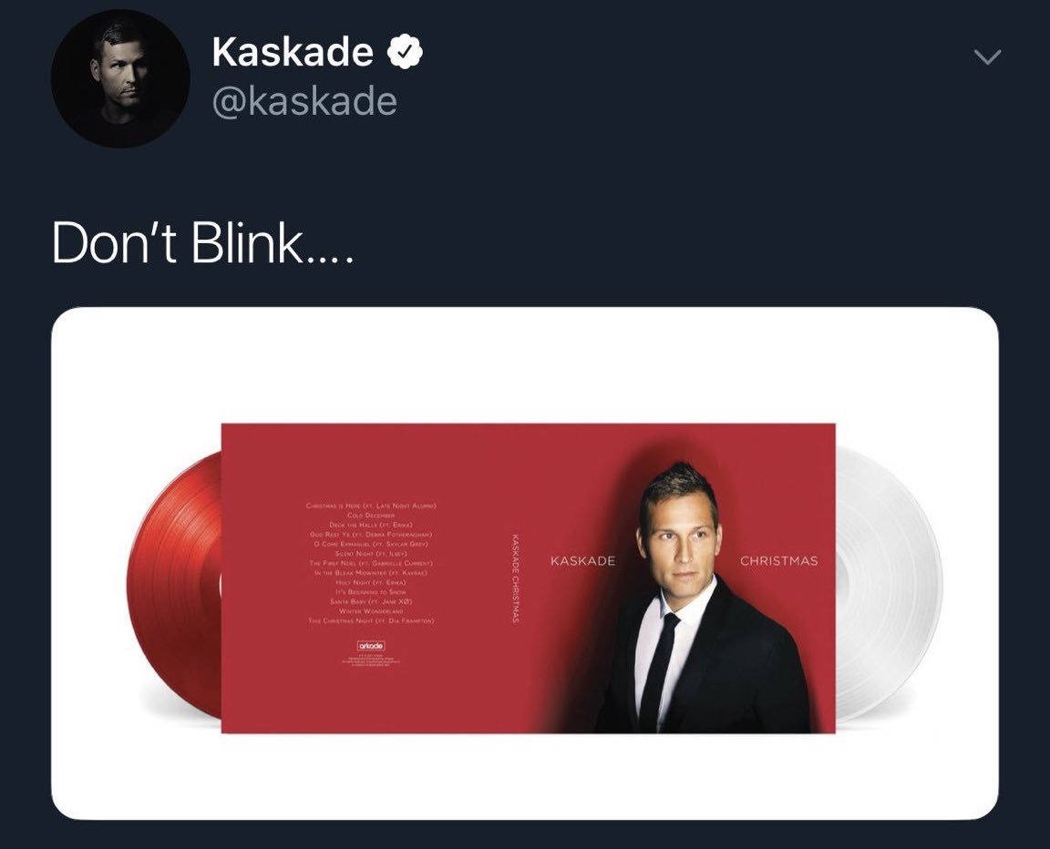 Kaskade Christmas.Kaskade A Twitter Oh Yeah I Also Pressed The Christmas