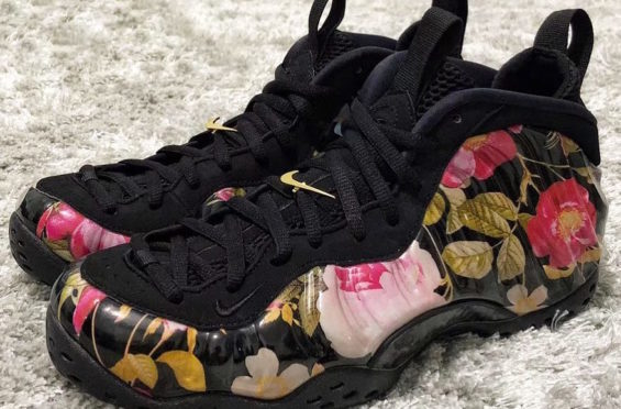 bfdf20d1cd5ce Release Date  Nike Air Foamposite One Floral - http   bit.ly 2BojR62 pic. twitter.com wx5LgMLEll