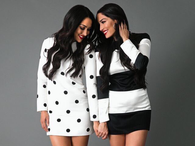 Happy Birthday to these lovely beauty queens, Nikki and Brie Bella
