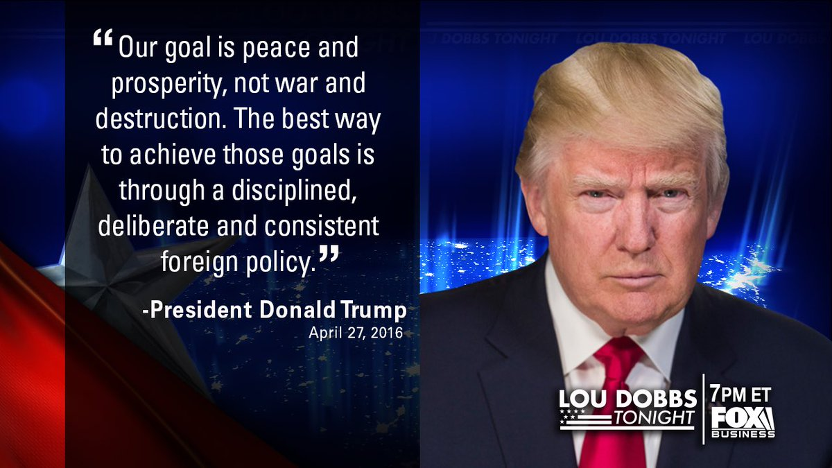Tonight's #QuoteOfTheDay is from our President @realdonaldtrump. #MAGA #TrumpTrain #Dobbs