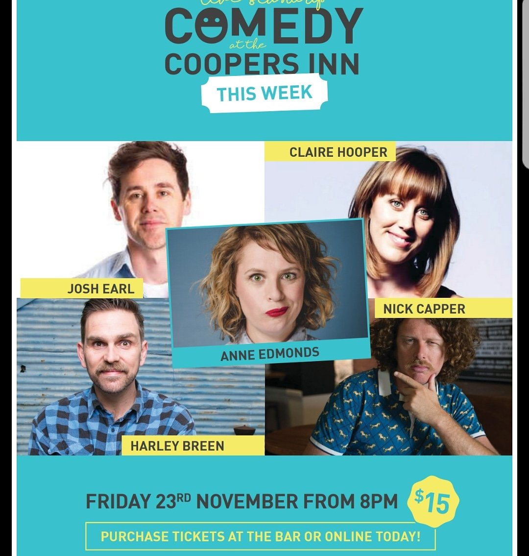 Huge show friday! Some of our favourites. Huge names (and capper)