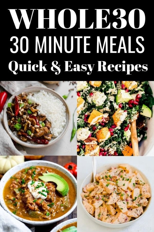 30 Minutes or Less Whole30 Recipes https://t.co/ngFMFjz7i7 #whole30 #recipes https://t.co/jWzXJtSNp4