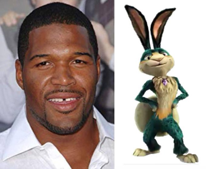 Happy 47th Birthday to Michael Strahan! The voice of Teddy in Ice Age: Collision Course.