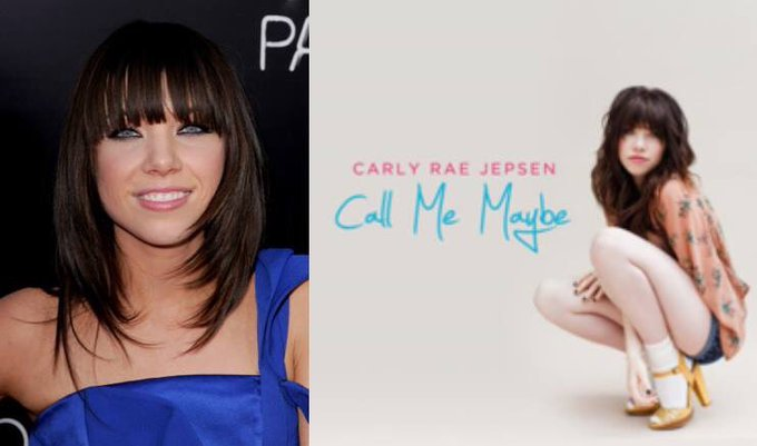 Happy 33rd Birthday to Carly Rae Jepsen! The singer who performed the song, Call Me Maybe.
