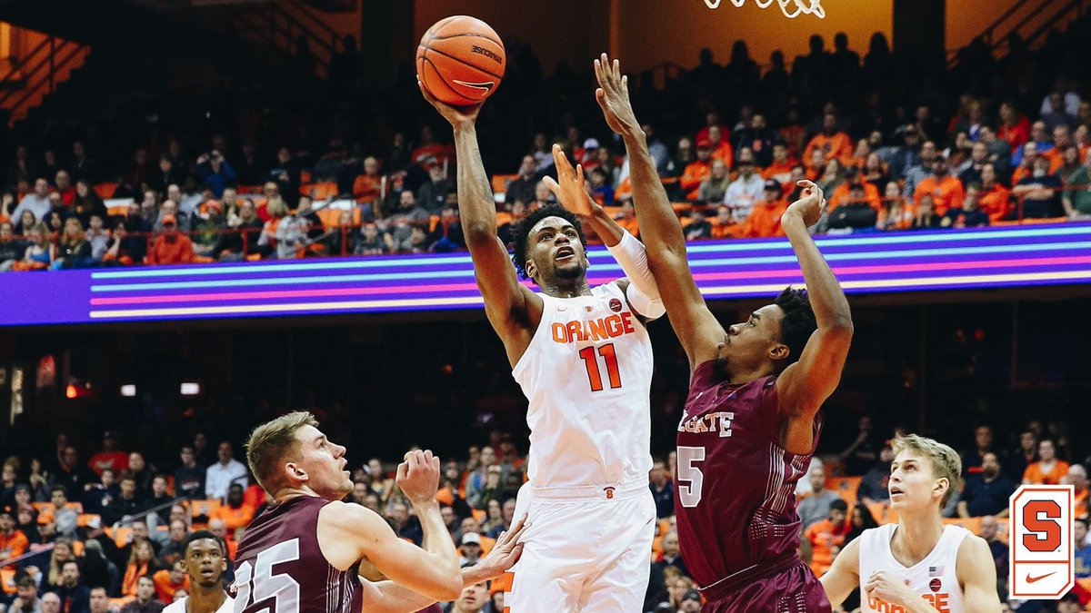 Syracuse gets back on winning track on Thanksgiving Eve (full coverage)
