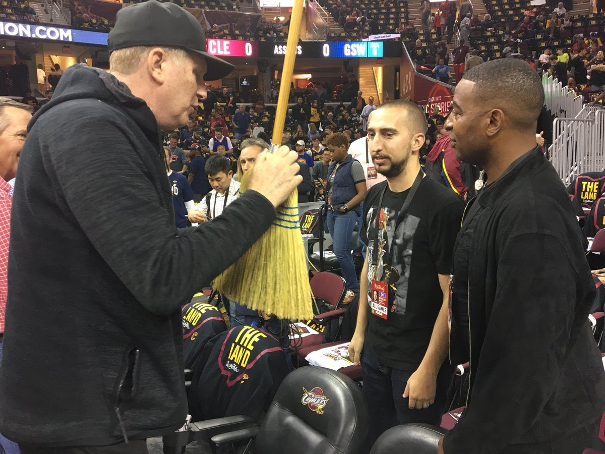 """nick wright on Twitter: """"Excellent jobs by the @cavs ops ..."""
