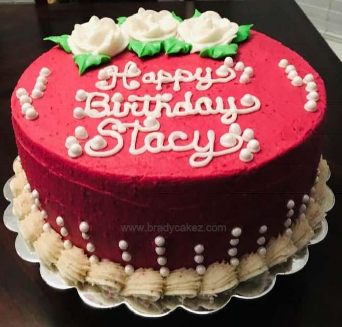 Brady Cakez On Twitter Rich Italian Cream Cake With A Pecan