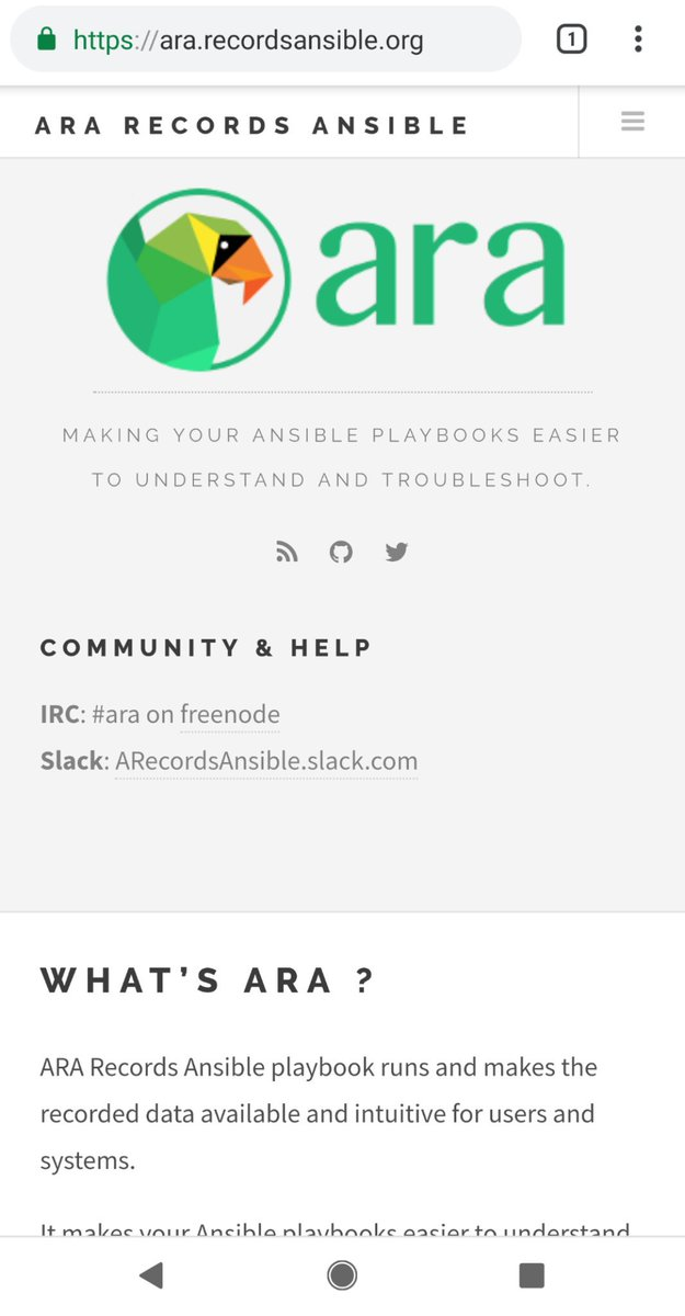 ARA Records Ansible (@ARecordsAnsible) | Twitter