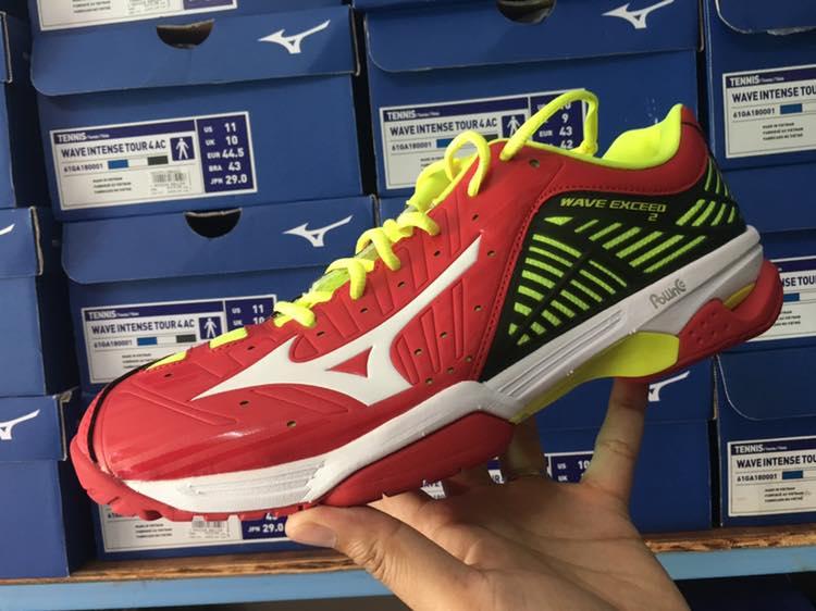 Mizuno WAVE EXCEED 2 AC http   vrhotshot.lnwshop.com p 735  https   www.facebook.com commerce products 1430555260380766  …  Tennis   Badminton  Tennisshoe ... 3be812ed0