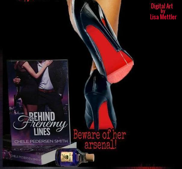 She has an arsenal he never expects. Behind Frenemy Lines. Check out all the new platforms available. #Tolino #24Symbols #Playster #libraries and more. #romance #bookworms #RomanticSuspense #MYSTERY #romanticcomedy #ladyassassins