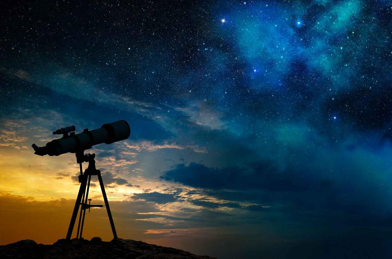 Телескоп в картинках, открытка история создания