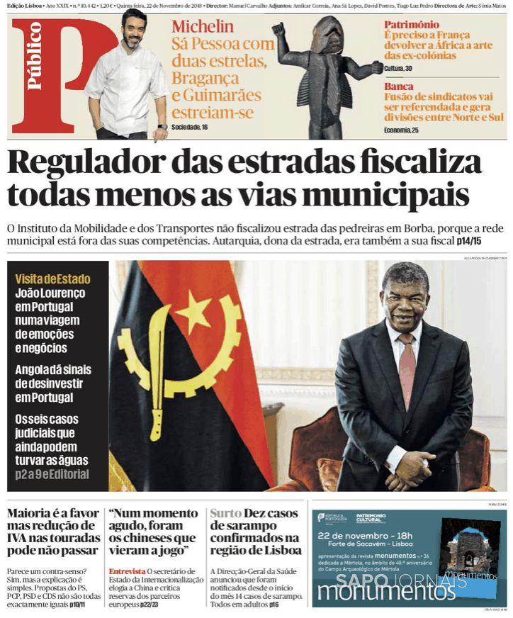 Sapo 24 On Twitter O Presidente De Angola Inicia Hoje A Primeira