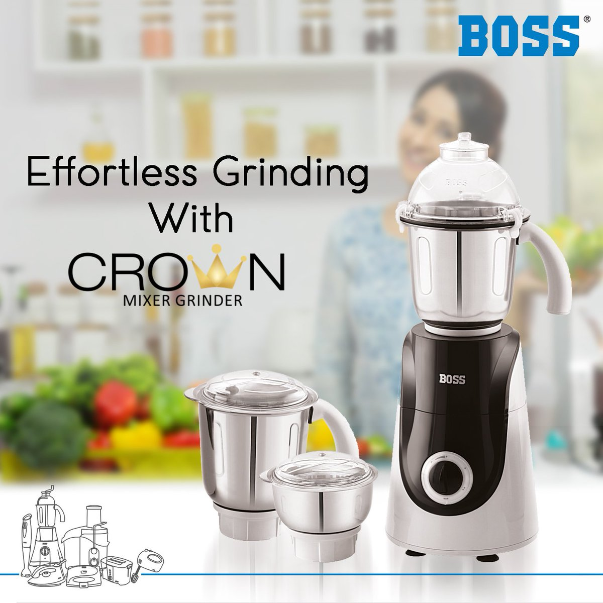Boss Home Appliances On Twitter Boss Crown Mixer Grinder Appliance That Can Make Your Life Easy Buy Now Https T Co Zjcgimo6ym Bosshomeappliance Newarrival Newlaunch Bosscrownmixer Bossmixergrinder Https T Co El5scayujd