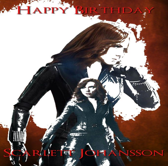 Happy Birthday to the amazing and beautiful Scarlett Johansson