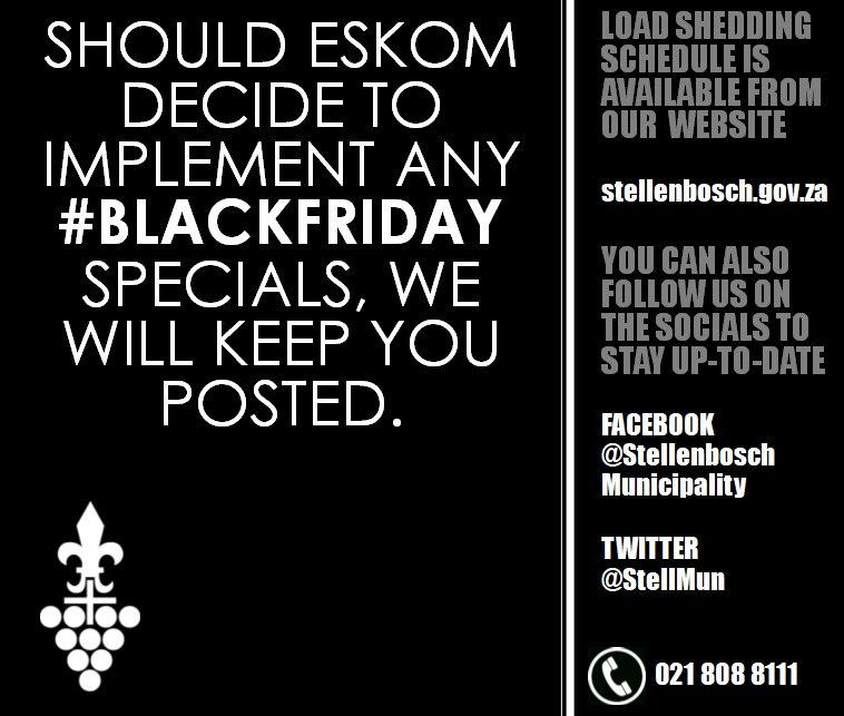 Stellenbosch Municipality on Twitter: