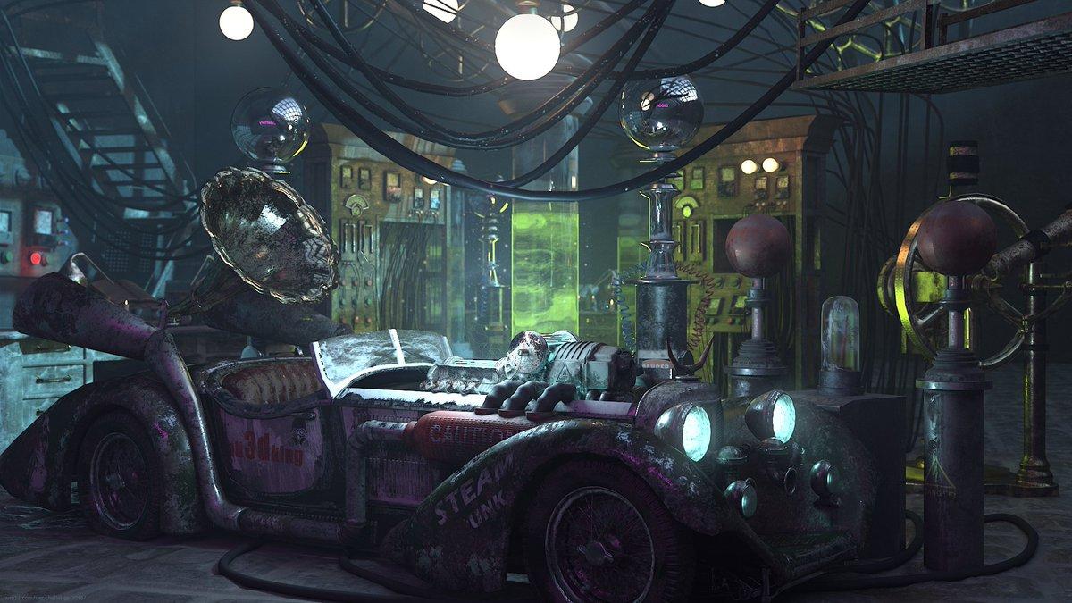 Classic car fantasy