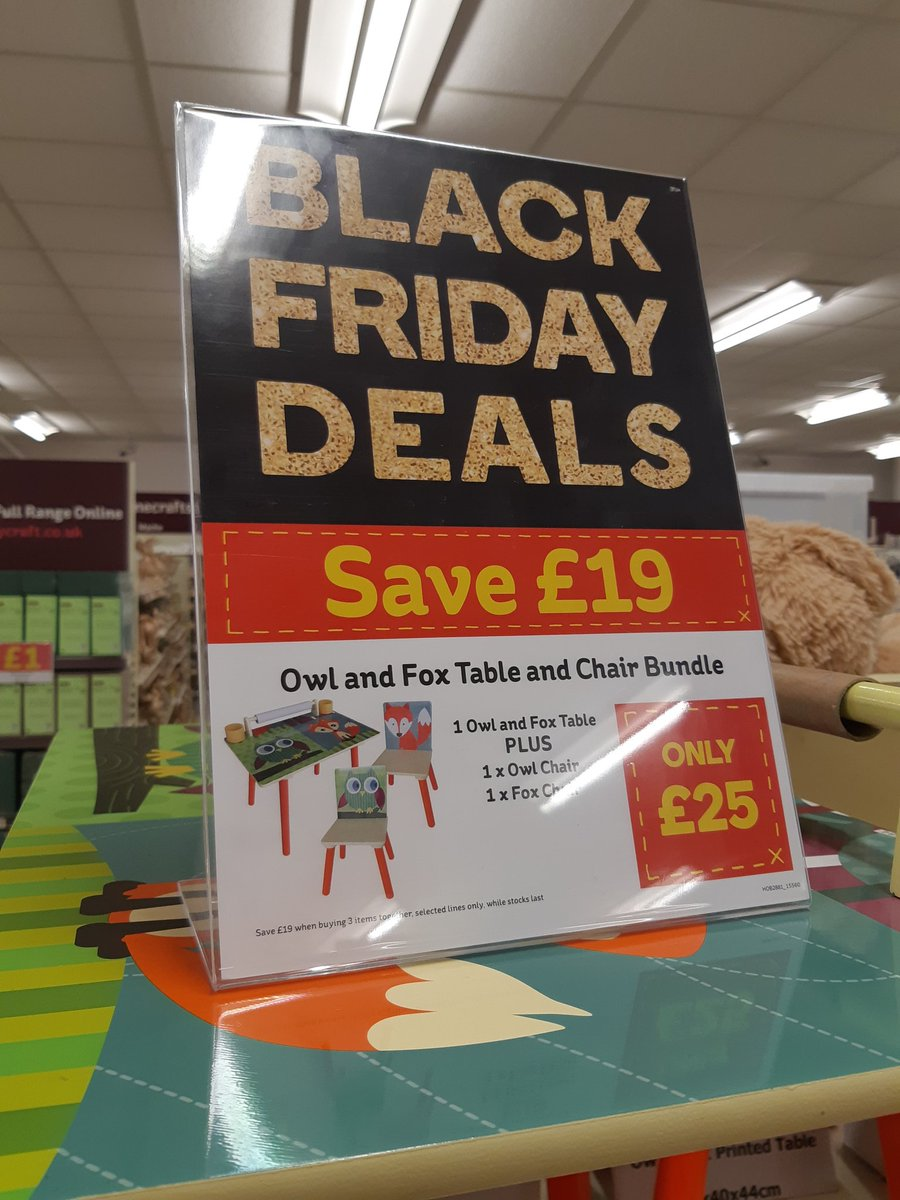 Hobbycraft Crawley On Twitter Selected Kids Table And Chair Sets