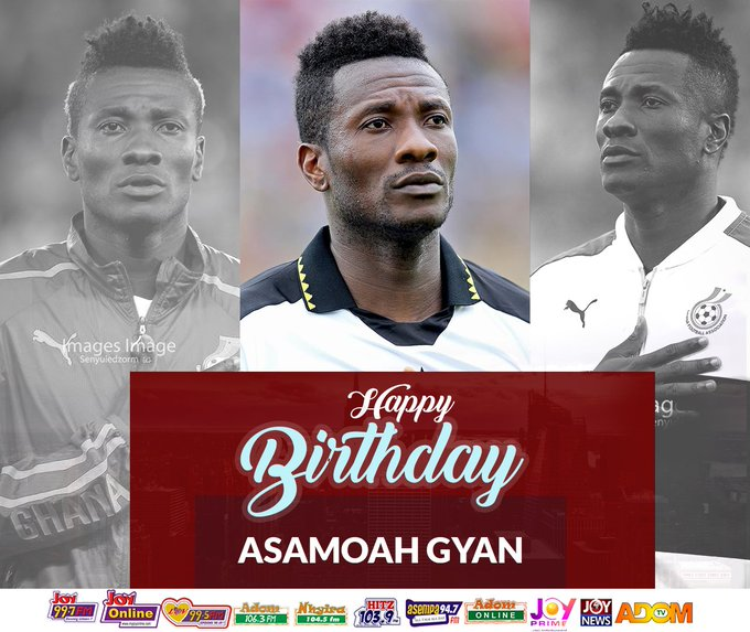 Happy BIRTHDAY   Baby Jet Asamoah Gyan God richly bless you more.