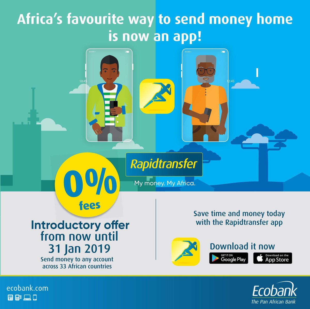 Cameroonian Bank Account Or Cash Can Be Picked Up At Any Ecobank Branch Nationwide And Share The Rapidtransfer Now