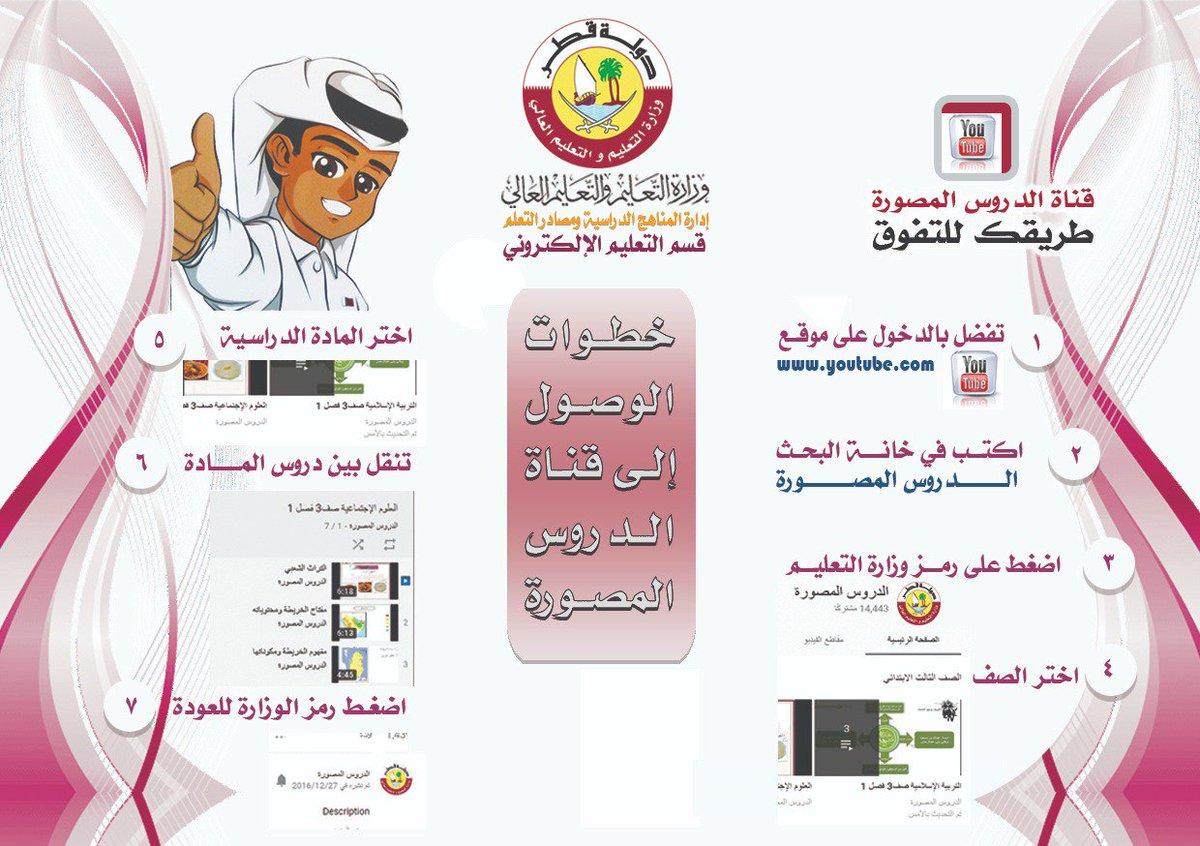طوات الوصول لقناة #الدروس_المصورة والتي تحتوي على دروس لجميع الصفوف الدراسية من الصف الثالث وحتى الثاني عشر
