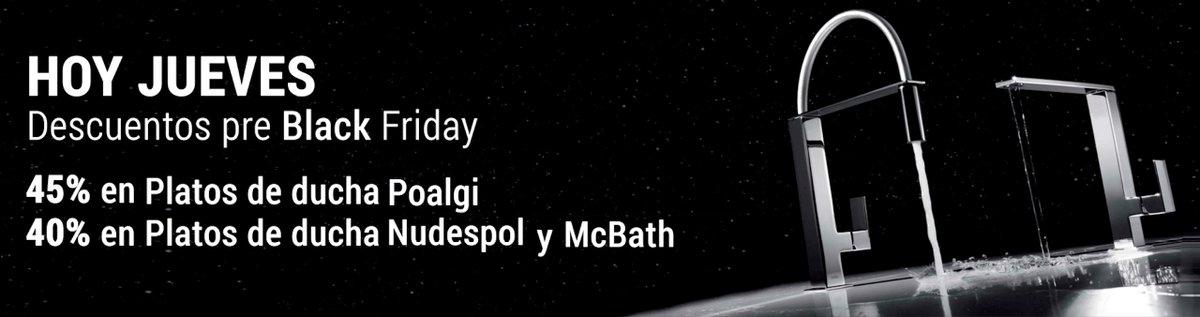 Platos De Ducha Mcbath.H2olimpo On Twitter Continua El Black Friday En H2olimpo