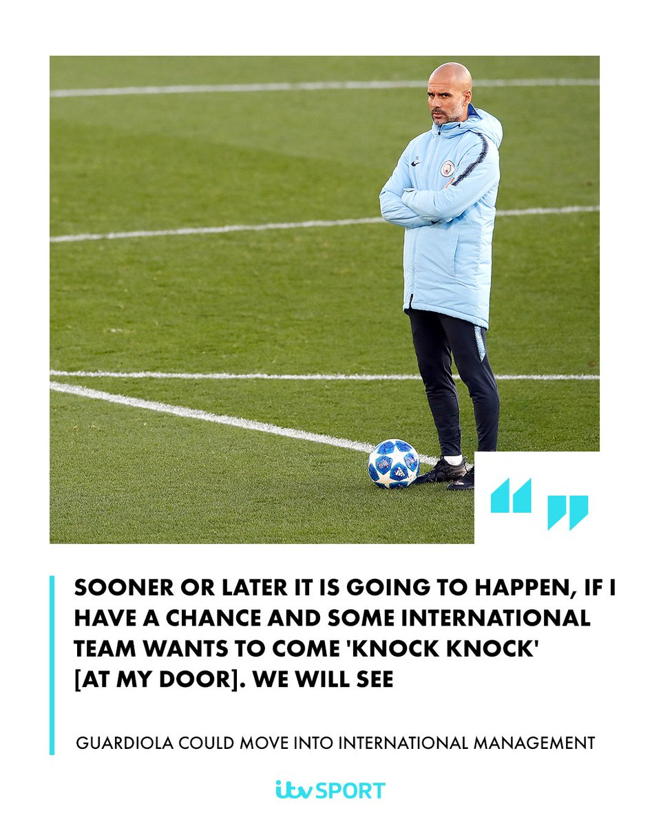 Guardiola will have a long queue of countries lined up at his door 🚪  https://t.co/tBDGgPQuh0  #MCFC #ESP