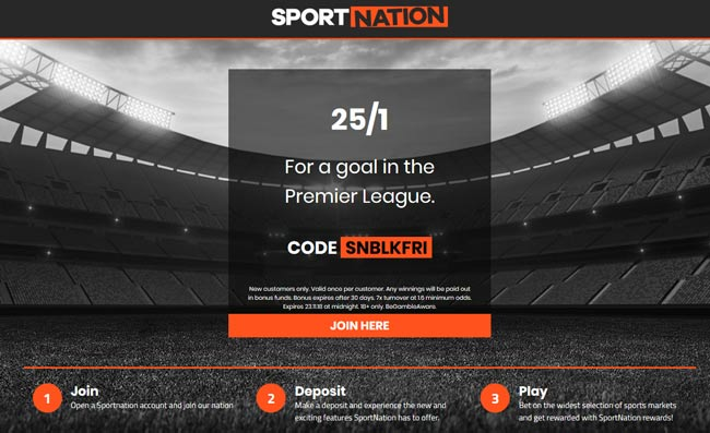 Sport Nation price boost