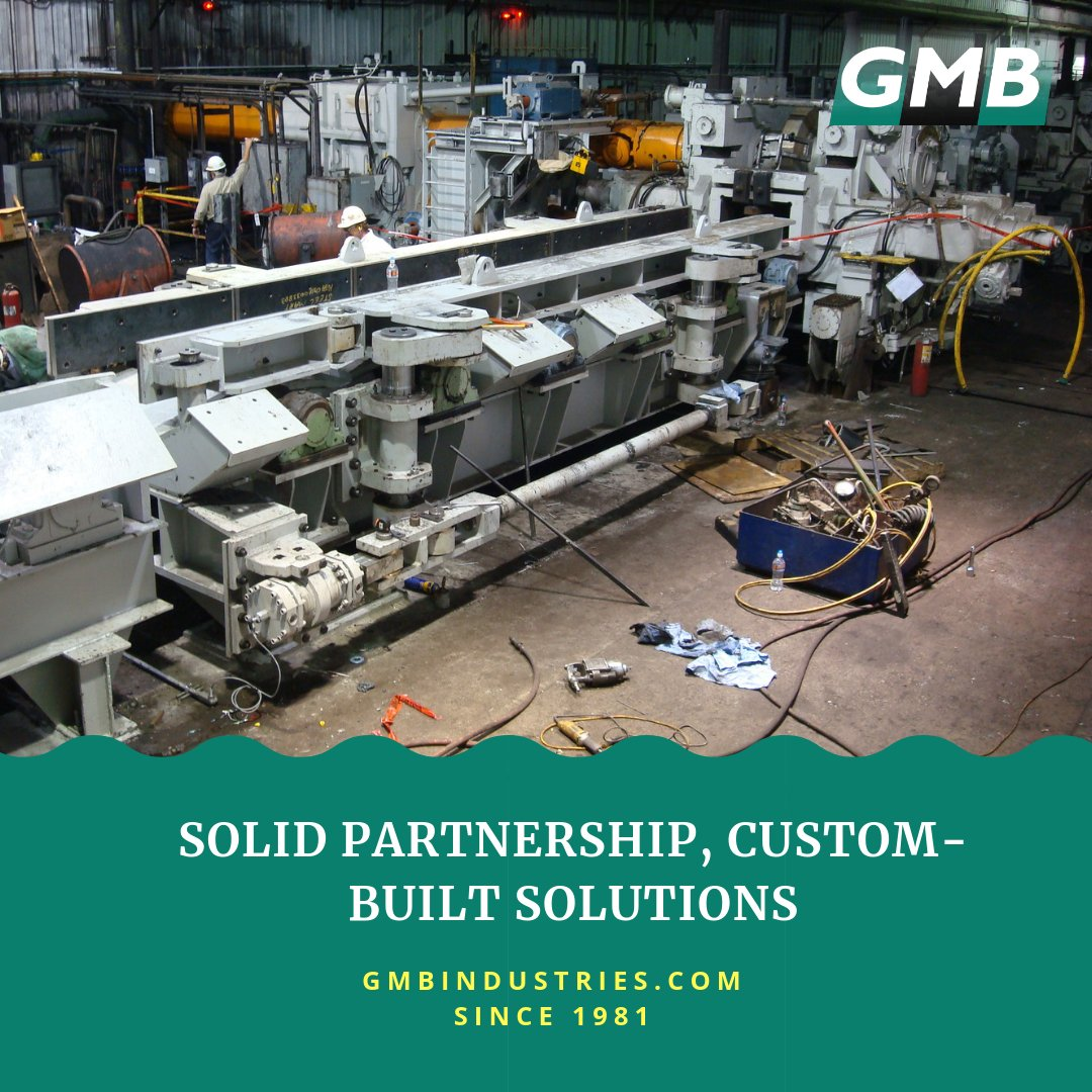 We design equipment that works with your current machines. https://buff.ly/2qGmhqe #customequipment #custommade #steelmillequipment #steelmillproducts #steelmillservices #steelmillengineering #steelrollingmill #rollingmill #continuouscasting #casting #flatrolling #hotrolledsteel