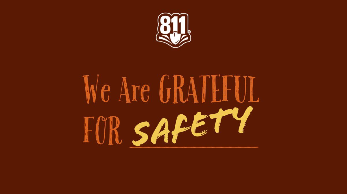 Usa North 811 On Twitter Happy Thanksgiving From Usa North 811 Be Sure To Keep Your Loved Ones Safe By Always Contacting 811 Before You Dig As A Reminder Usa North 811 Pretty sure my boards speak for themselves. twitter