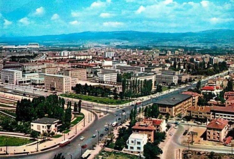 Akay Kavşağı ve Bakanlıklar, 1960'lı yıllar...