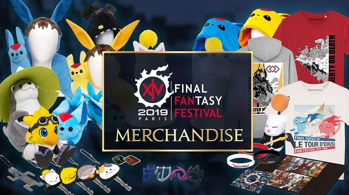【FF14】欧州ファンフェスで販売予定のグッズが公開!帝国パーカーやモーグリ・ナマズオキーカバー、三国コインなど:馬鳥速報 #FF14