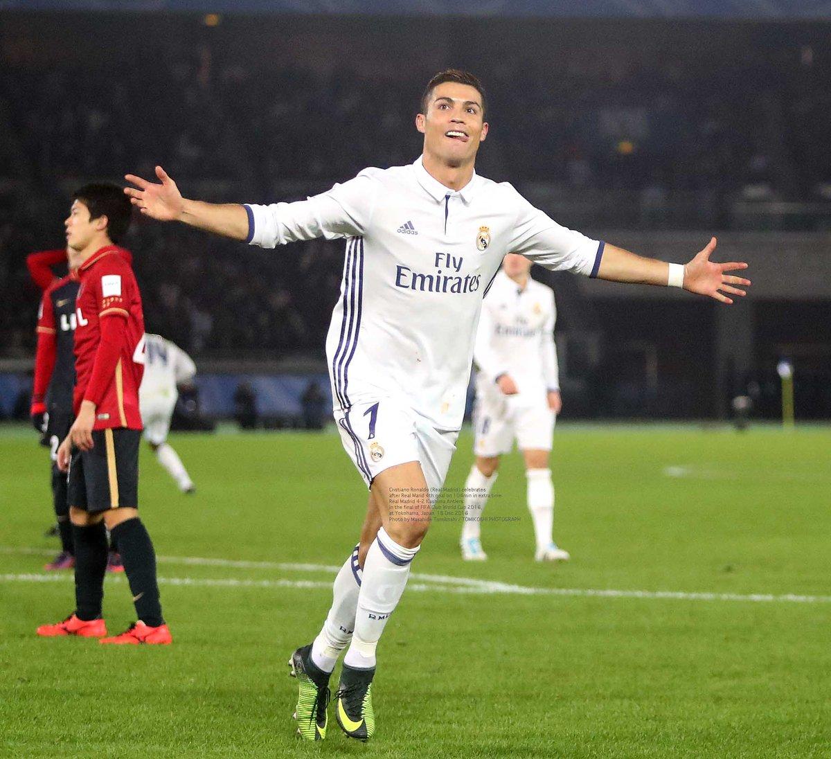 Tphoto On Twitter Cristiano Ronaldo Real Madrid Celebrates