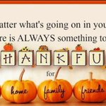 Image for the Tweet beginning: Happy, Blessed Thanksgiving to All!!