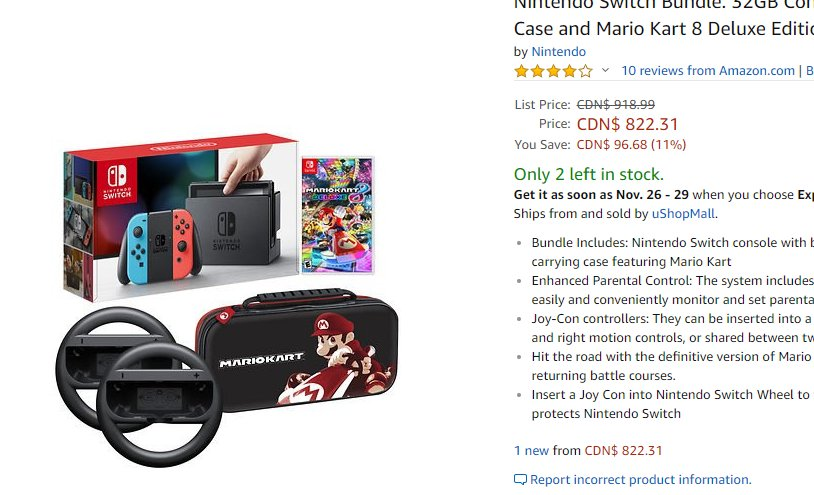 Ign On Twitter Nintendo Switch With Mario Kart 8 Deluxe Is