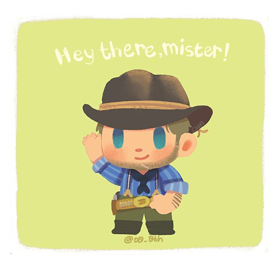 Mini Arthur said hi #rdr2 #RedDeadRedemption2