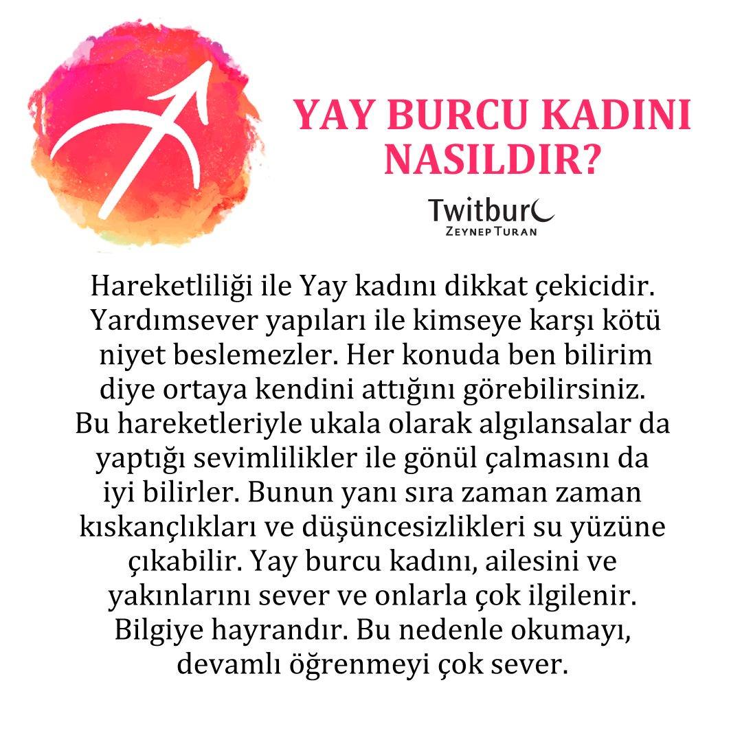 Zeynep Turan On Twitter Yay Burcu Kadını Nasıldır Tanımak Ister