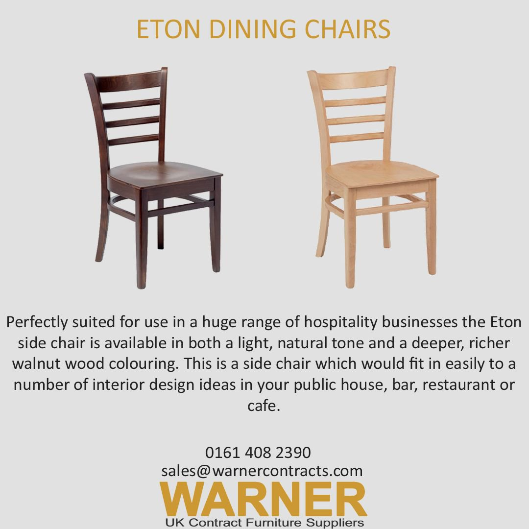 Warner Contracts On Twitter The Eton Dining Chair Is Well