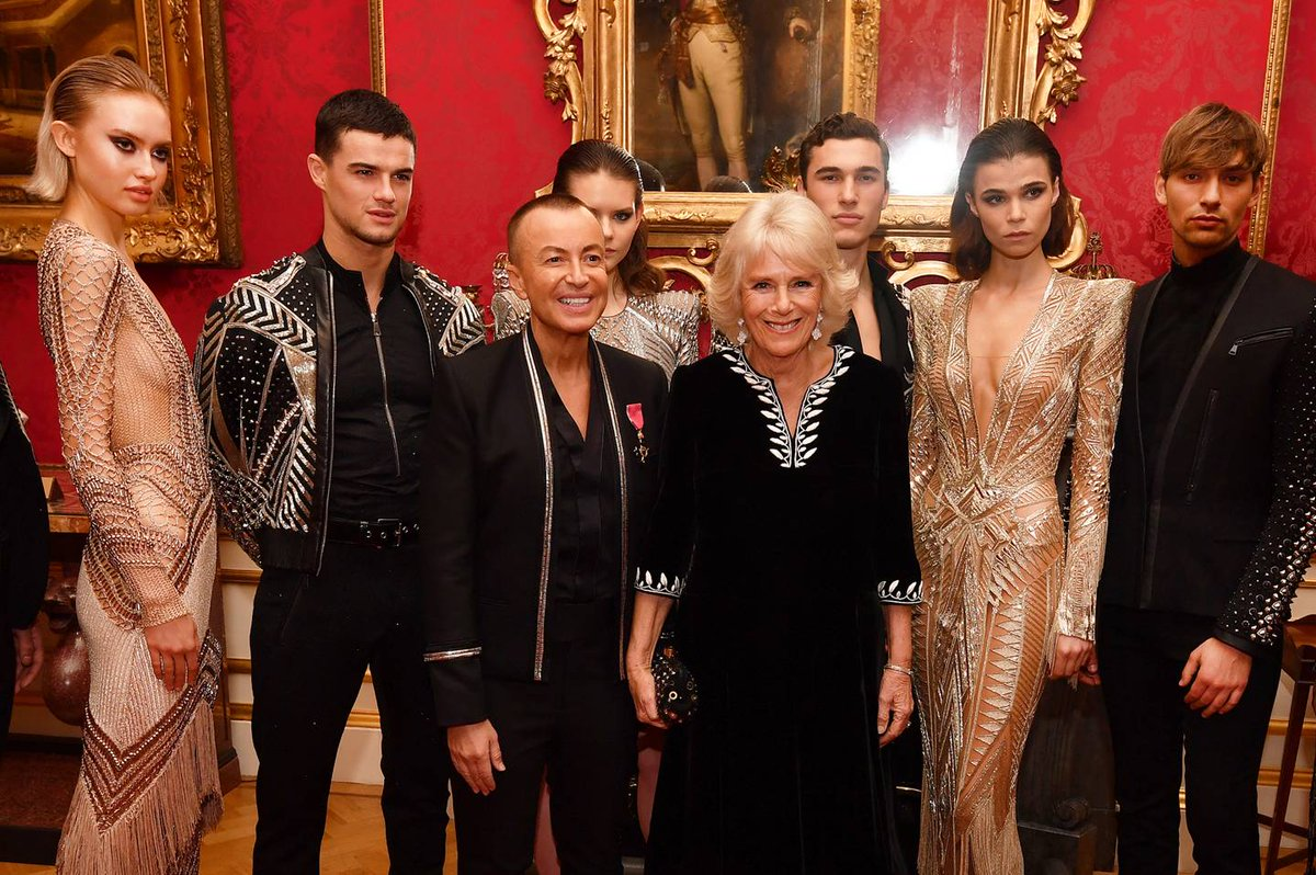 eef48987780 the duchess of cornwall teams up with julien macdonald for charity  fundraiser