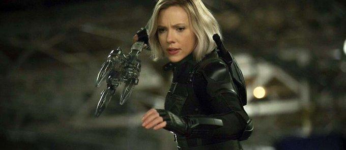 Happy Birthday (and Happy Thanksgiving) to both the Black Widow and the Hulk -  Scarlett Johansson & Mark Ruffalo!